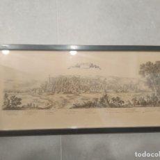 Arte: GIRONE EN CATALOGNE. SELLO DE LA CALCOGRAFÍA LOUVRE, N. PERELLE (S. XIX). Lote 265213839