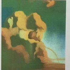 Arte: IMPRESIONANTE GRABADO DE DALI, EL ESPECTRO Y EL FANTASMA ,FIRMADO Y NUMERADO , 50 X 65 CM. Lote 36985322