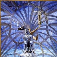 Arte: IMPRESIONANTE GRABADO DE DALI, SANTIAGO EL GRANDE ,FIRMADO Y NUMERADO , 50 X 65 CM. Lote 42971459