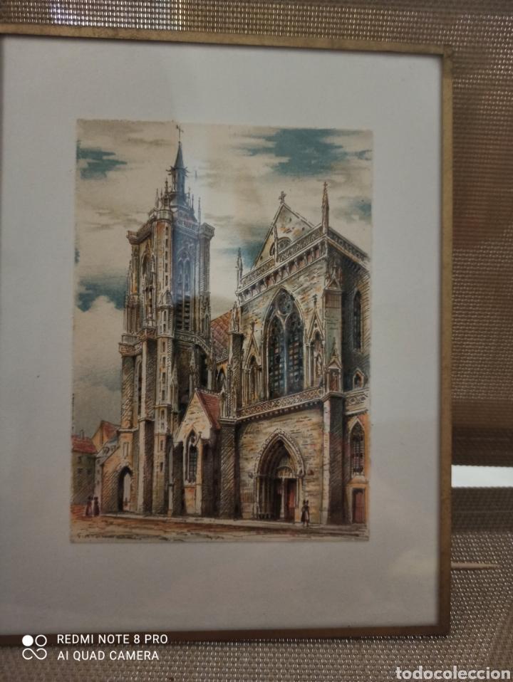 GRABADO G.A.DUMARAIS ((5)) (Arte - Grabados - Contemporáneos siglo XX)