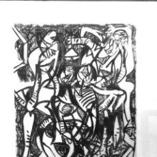 Arte: GRABADO ORIGINAL DE JUAN BARJOLA. Lote 265920758