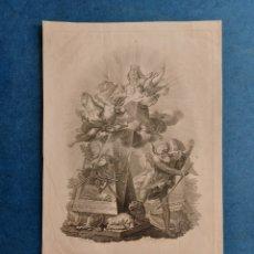 "Arte: F. JORDAN"" GRABADO ALEGARICO"" 1807. Lote 266092253"