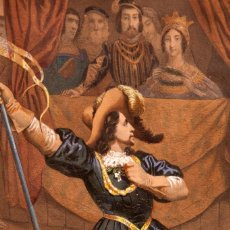 Arte: NICOLAS EUSTACHE MAURIN - GRABADO ILUMINADO AL HUEVO - ESPAÑA - C. 1730. Lote 267078254