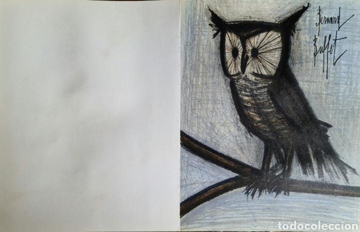 Arte: Bernard Buffet, litografia por Mourlot 1967, firmada en plancha. - Foto 3 - 267167434