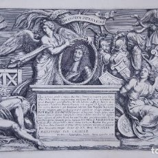 Arte: GRABADO DEL SIGLO XVIII. ITÁLIA. Lote 267772359