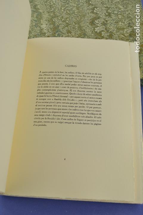 Arte: Places de Barcelona, Simó Busom, Josep Mª Cadena, 1997, grabados prueba de artista, edición limitada - Foto 5 - 268611944