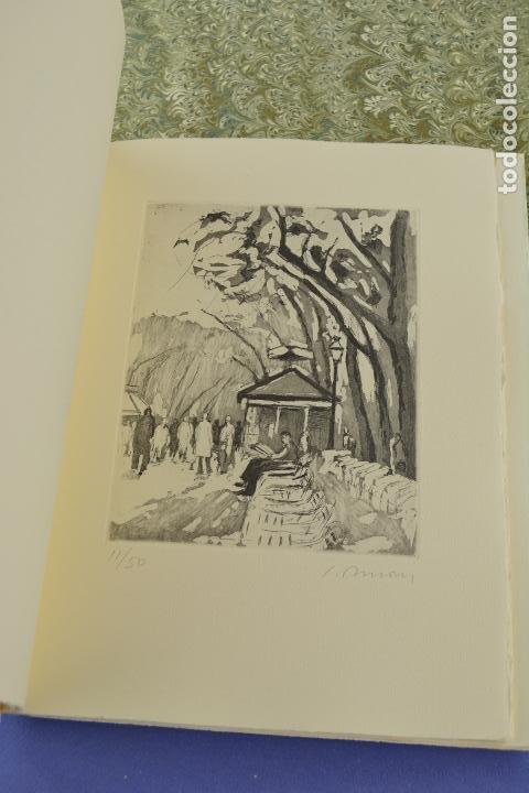 Arte: Places de Barcelona, Simó Busom, Josep Mª Cadena, 1997, grabados prueba de artista, edición limitada - Foto 6 - 268611944