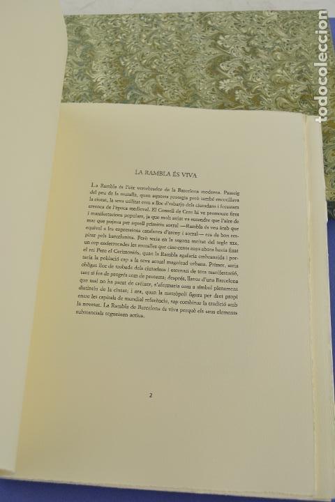 Arte: Places de Barcelona, Simó Busom, Josep Mª Cadena, 1997, grabados prueba de artista, edición limitada - Foto 8 - 268611944