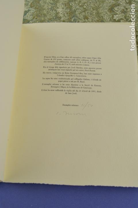 Arte: Places de Barcelona, Simó Busom, Josep Mª Cadena, 1997, grabados prueba de artista, edición limitada - Foto 9 - 268611944