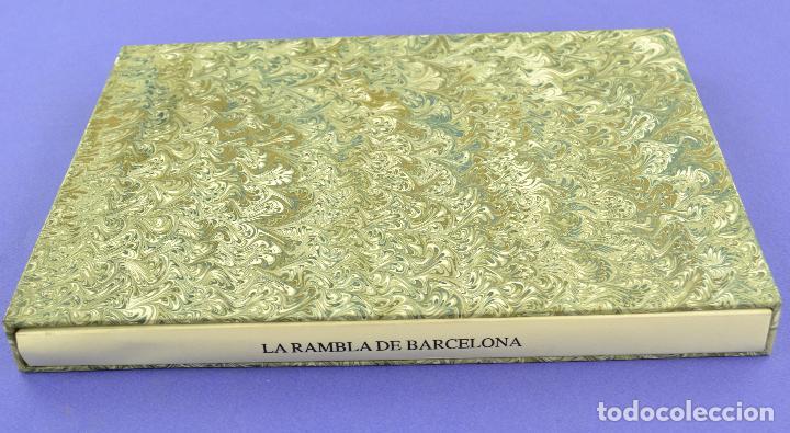 PLACES DE BARCELONA, SIMÓ BUSOM, JOSEP Mª CADENA, 1997, GRABADOS PRUEBA DE ARTISTA, EDICIÓN LIMITADA (Arte - Grabados - Contemporáneos siglo XX)