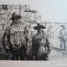 Arte: ANTONIO ZARCO (MADRID, 1930) GRABADO 1981 DE 32X25 PAPEL 48X37 FIRMA A LÁPIZ Y /200. PERFECTO. Lote 268869989