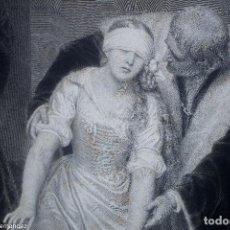 Arte: JANE GRAY - PAUL DELAROCHE - P. MERCURY. Lote 268961639
