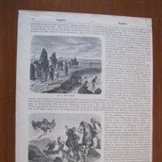 Arte: EL CUENTA CUENTOS Y OTRAS ESCENAS DE ÁFRICA, HACIA 1870. ANÓNIMO. Lote 269011524