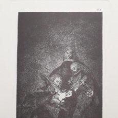 Arte: GOYA,LOS CAPRICHOS N.21 QUAL LA DDESCAÑONAN!,AGUAFUERTE ORIGINAL DIRECTO DE PLANCHA CON CERTIFICADO. Lote 269193298