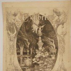Arte: GRABADO DE ALEXANDRE DE RIQUER (1856-1920), EX LIBRIS PARA HUGO SANNER.. Lote 269249488