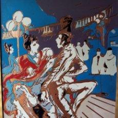 Arte: CUADRO DE LUJO, ESMALTE SOBRE COBRE.. Lote 269256748