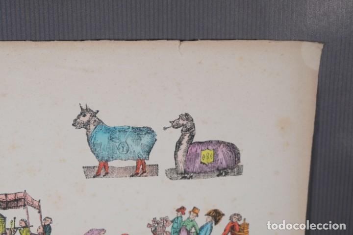 Arte: Grabado coloreado ceremonia principios siglo XX - Foto 3 - 269743823