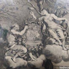 Arte: PAREJA DE GRABADOS C. LE BRUN. FINALES S. XVII. Lote 270387558
