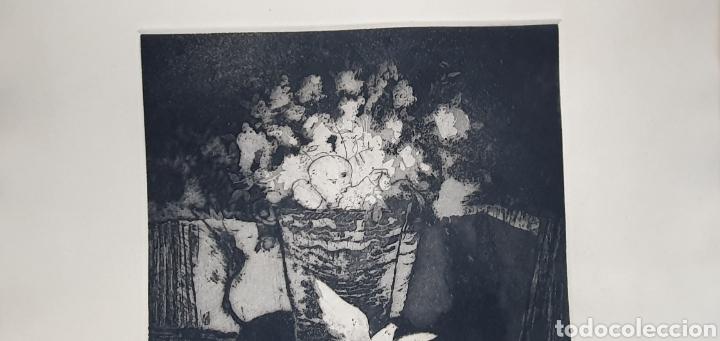 Arte: GRABADO NUMERADO Y FIRMA A IDENTIFICAR - Foto 5 - 270551283