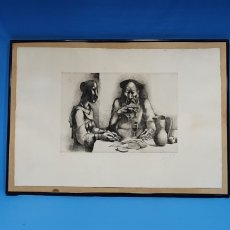Arte: GRABADO NUMERADO Y FIRMA A IDENTIFICAR. Lote 270552608