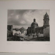 Arte: GRAN VISTA DEL CONVENTO DE SANTA CLARA EN LIMA (PERÚ), 1840. FISQUET/DOREY/BERTRAND. Lote 270868723