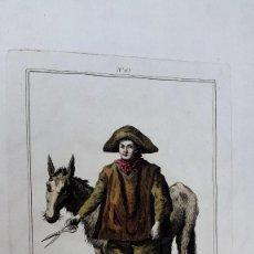 Arte: MIGUEL GARRIDO EN TRAJE DE GITANO - GRABADO JUAN DE LA CRUZ CANO. Lote 270928093