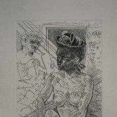Arte: GRABADO XAVIER ARTIGAU 1989. Lote 272372553