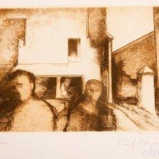 Arte: ALBERT LLUCH BLAYA - 3 AGUAFUERTES EN CARPETA. Lote 272457193