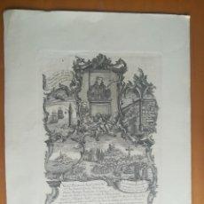Arte: VERDAº RETRATO DEL BENDº Y VENE. PAE.FRY BARTHOLOME CATANY, MALLORQUIN..MELCHOR GUASP PRO FT CA 1760. Lote 272846148