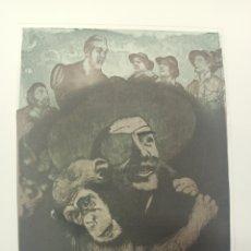 Arte: GRABADO COLOR ORIGINAL DE EBERHARD SCHLOTTER, FIRMADO A LAPIZ PRUEBA DE AUTOR.. Lote 274537443