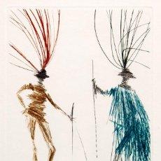 Arte: SALVADOR DALI - AGUAFUERTE - 156/250. Lote 274752793