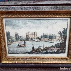 Arte: GRABADO ANTIGUO GIUSEPPE ZOCCHI. Lote 275096058