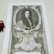 Arte: S.XVIII - DANIEL FINCH, CONDE DE NOTTINGHAM - GRABADO DE JACOBUS HOUBRAKEN. Lote 254259200