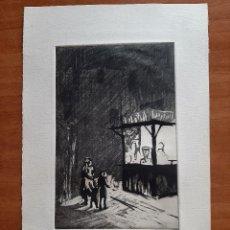 Arte: GIL MORENO DE MORA : AGUAFUERTE - PARAÍSOS PÉRDIDOS. Lote 275317443