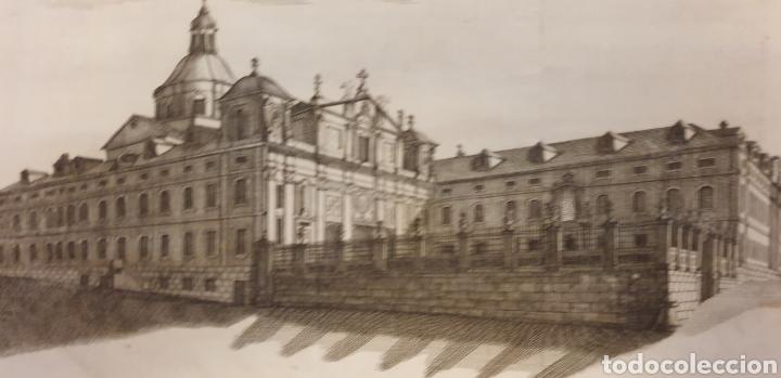Arte: Grabado del convento de la visitaciónde Madrid de entre 1700 a 1800 - Foto 2 - 275721803