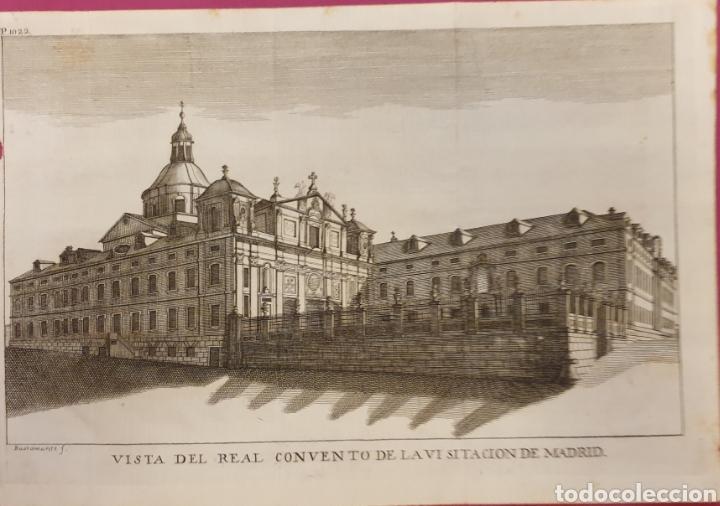 GRABADO DEL CONVENTO DE LA VISITACIÓNDE MADRID DE ENTRE 1700 A 1800 (Arte - Grabados - Antiguos hasta el siglo XVIII)