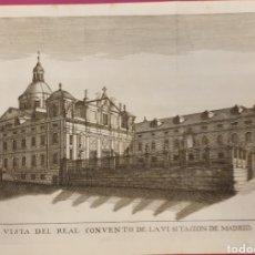 Arte: CRIBADO DEL CONVENTO DE LA VISITACIÓNDE MADRID DE ENTRE 1700 A 1800. Lote 275721803
