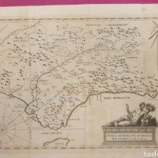 Arte: GRAN GRABADO DE ENTRE 1700 A 1800 DE LA BÉTICA ANTIGUA RÍOS Y MONTES. Lote 275723018