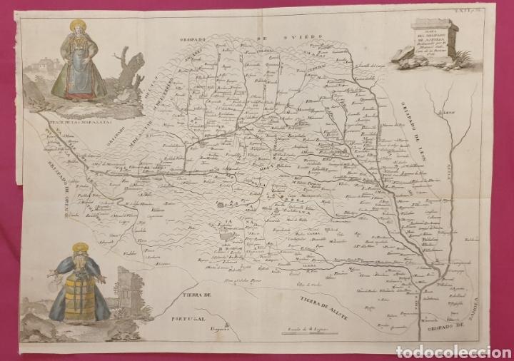 Arte: Gran grabado de la lusitana antigua de 1764 tiene mujeres con trajes regionales coloreados - Foto 2 - 275725738