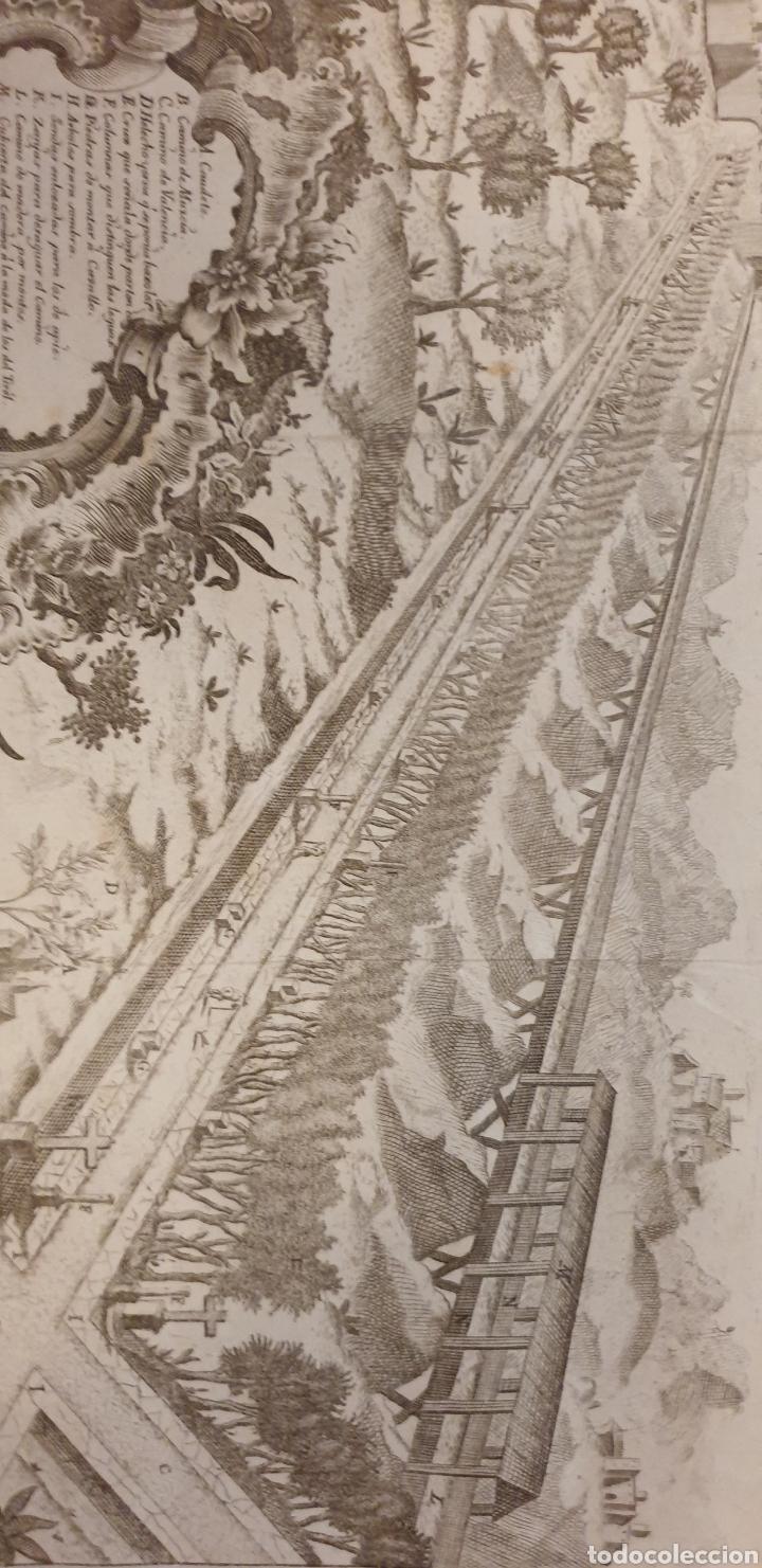 Arte: Grabado sobre un camino romanos o mediebales de 1700 a 1800 - Foto 2 - 275732018