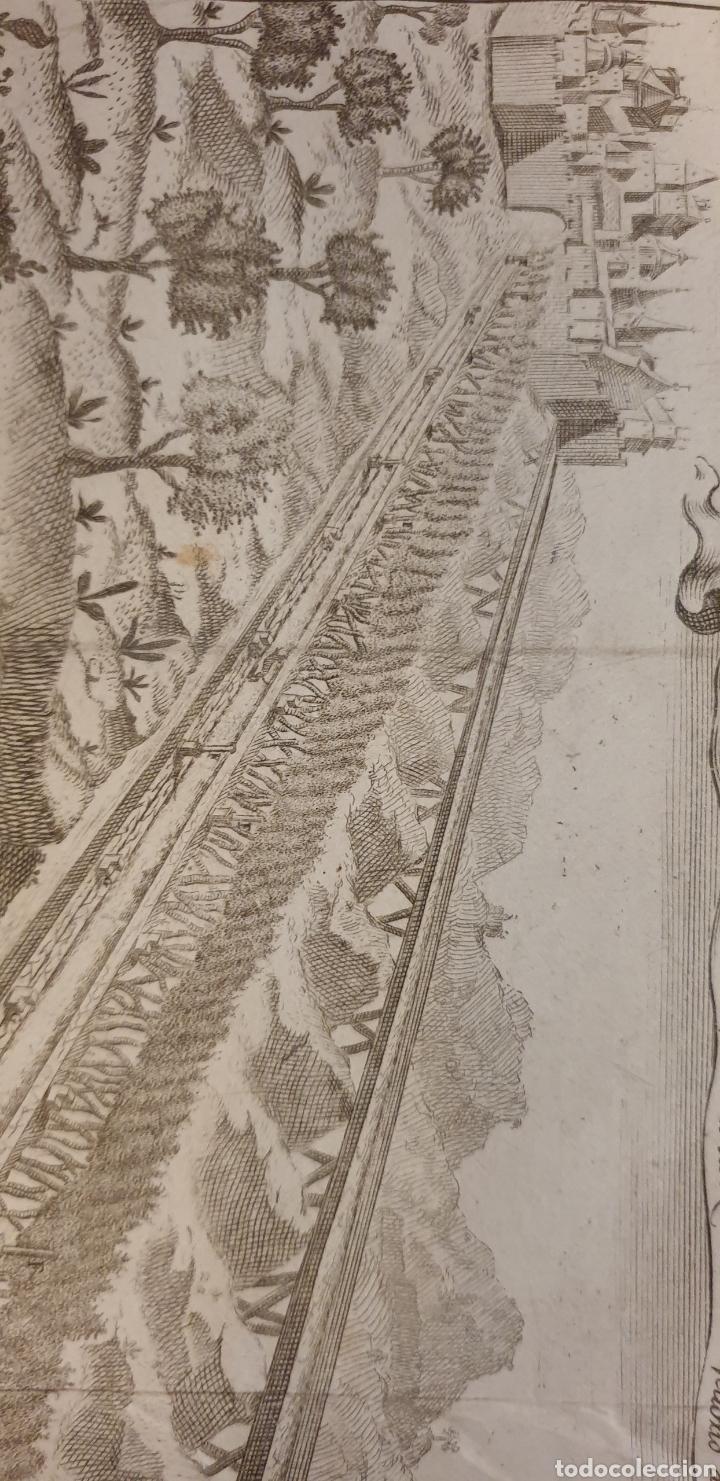 Arte: Grabado sobre un camino romanos o mediebales de 1700 a 1800 - Foto 4 - 275732018