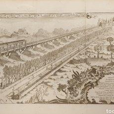 Arte: GRABADO SOBRE UN CAMINO ROMANOS O MEDIEBALES DE 1700 A 1800. Lote 275732018