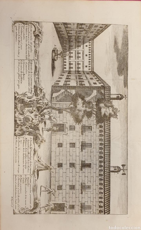 GRABADO DE UNA POSADA ANTIGUA DE ENTRE 1700 1800 (Arte - Grabados - Antiguos hasta el siglo XVIII)