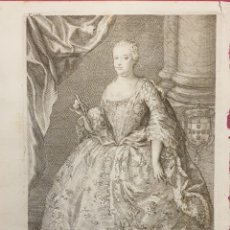 Arte: BONITO GRABADO DE FERNANDO VI DE ENTRE 1700 A 1800. Lote 275965373