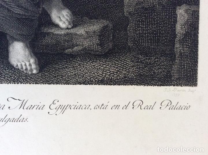 Arte: Santa María EGIPCIACA ,AGUAFUERTE 1797 - Foto 3 - 276087163