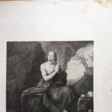 Arte: SANTA MARÍA EGIPCIACA ,AGUAFUERTE 1797. Lote 276087163