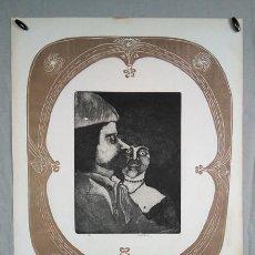 Arte: JULIO ZACHRISSON (CIUDAD DE PANAMÁ 1930). FIRMADO 5/50. 1967. Lote 276221883
