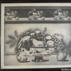 Arte: ALFREDO ALCAIN (MADRID 1936).GRABADO FIRMADO Y NUMERADO.. Lote 276549778