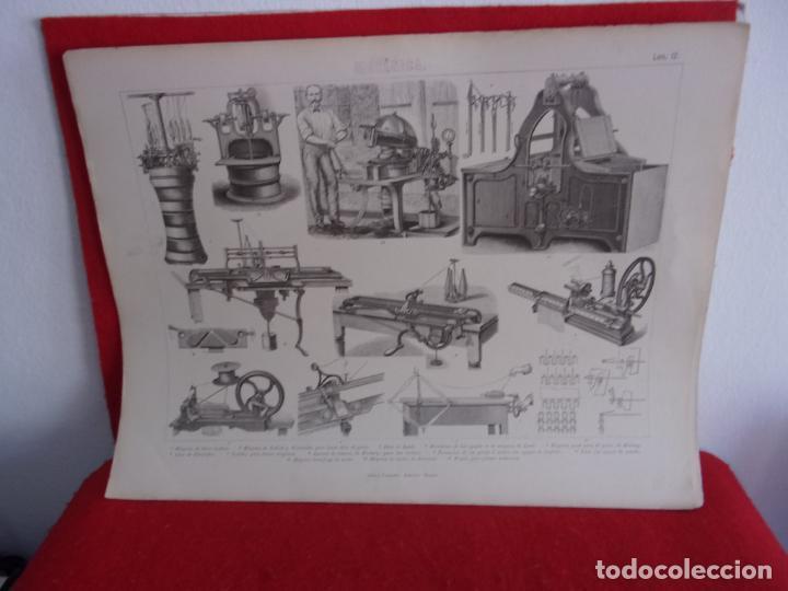 Arte: grabado,Gras y compañia,maquinas hacer medias - Foto 2 - 276802558