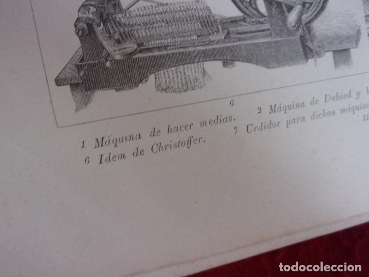 Arte: grabado,Gras y compañia,maquinas hacer medias - Foto 3 - 276802558